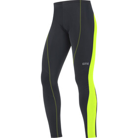 GORE WEAR C3+ ajohousut Miehet, black/neon yellow